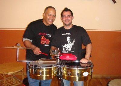 Taller de Percusión Richie Bastar en La Clave 2009