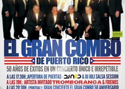 Concierto 50 Aniversario El Gran Combo 2012