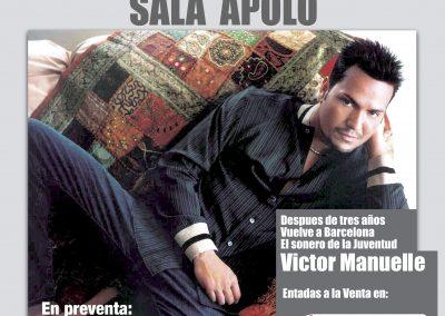 Concierto Victor Manuelle en Teatro Apolo 2010