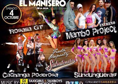 Pre-party Salsaloneta en Manisero 2014